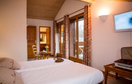 Hotel L'Ancolie Chambre vue Forêt