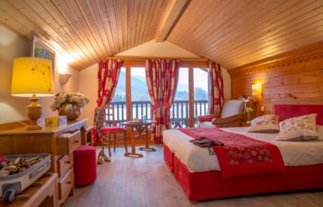 Hotel L'Ancolie Chambre vue Lac