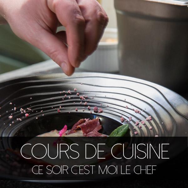 Cours de Cuisine avec Olivier Gérard