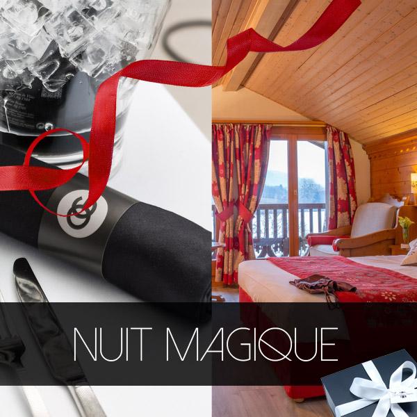 Bon cadeau Hotel Ancolie Nuit Magique